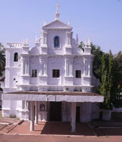 Mother of the Poor Church, Nuvem, Goa