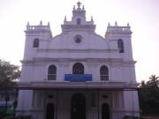 Church-of-Our-Lady-of-Pilar,-Seraulim,Goa