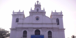 Church-of-Our-Lady-of-Pilar,-Seraulim,Goa