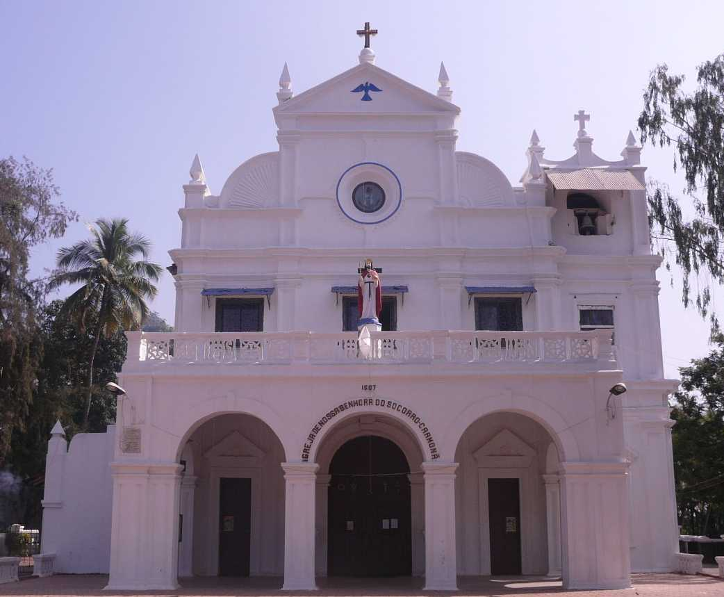 Church of Our Lady of Socorro, Carmona, Goa