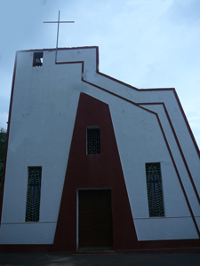 Church of Our-Lady-of-the-Sick,-Quelossim,Goa