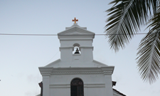 Church-of-Saints-Cosmas-and-Damien,-Bogmalo,-Goa
