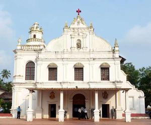 Church-of-St-Michael-the-Archangel,-Orlim,Goa