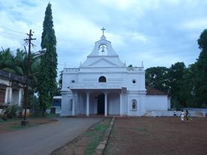 Holy Cross Church, Quepem, Goa, India