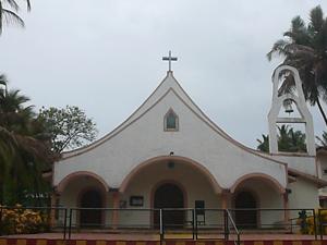 Holy Family Church, Marcel, Goa