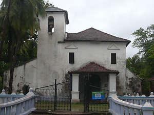 Holy Spirit Church, Naroa, Goa