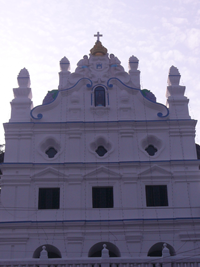 Mother of God Church, Pomburpa, Goa