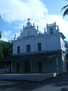 Our-Lady-of-Assumption church,-Velsao,Goa