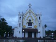 Our-Lady-of-Bethlehem Church,-Chandor,Goa