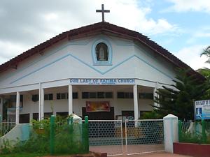 Our-Lady-of-Fatima Church,-Cotto-de-Fatorpa,-Goa