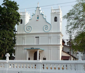 Our Lady of Grace Church, Graca, Chorao, Goa