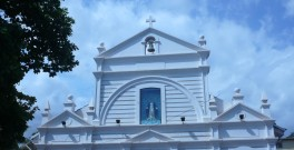 Our Lady of Grace church, Bicholim, Goa