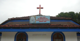Our Lady of Immaculate Conception Church, Dabal, Goa, India