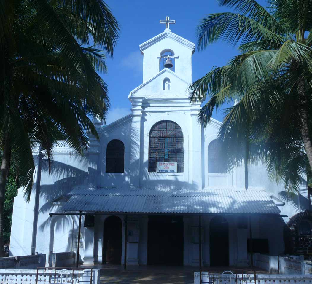 Our Lady of Lourdes Church, Utorda, Goa