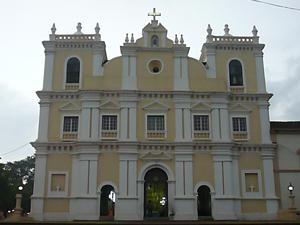 Our-Lady-of-Snows church,-Raia,-Goa