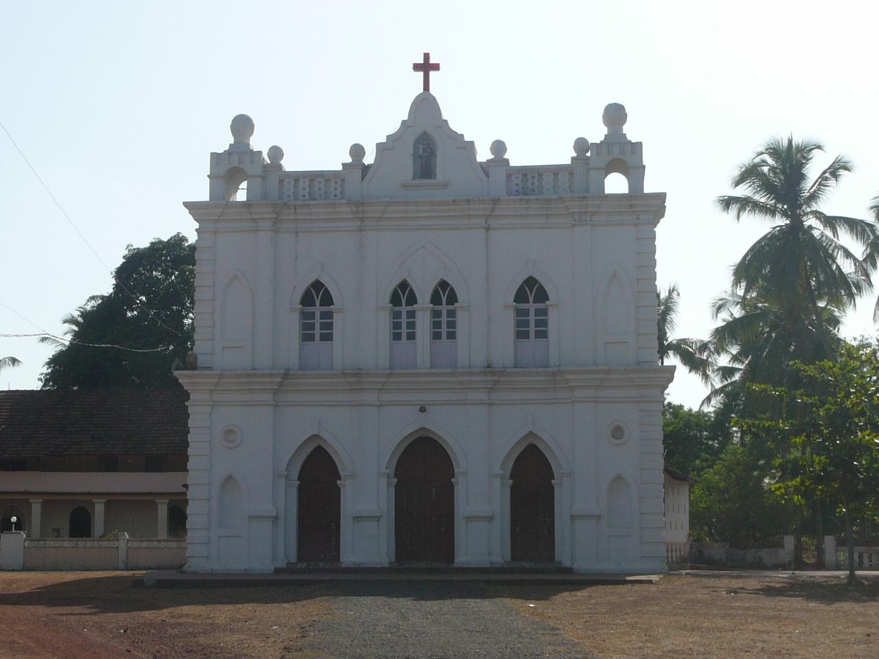 St Anthony church, Vagator, Goa