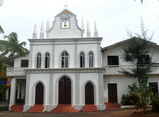 St Francis Xavier Church, Maina, Corgao, Pernem, Goa