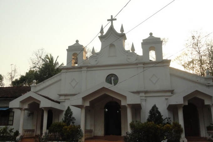 St Francis Xavier Church, Pirna, Goa