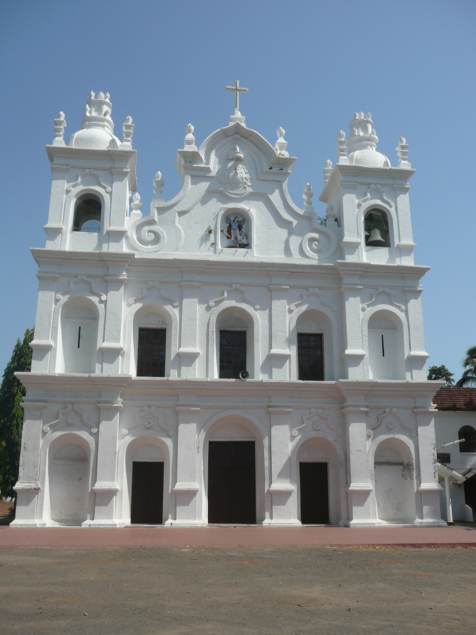 St Michael the archangel Church, Anjuna, Goa