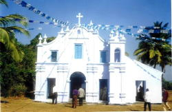 Our Lady of Springs Church, Anjediva, Goa