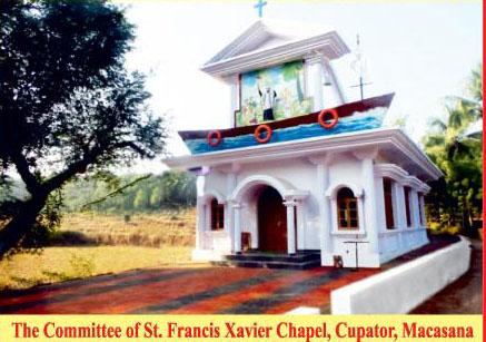 St Francis Xavier Chapel,Macasana, Goa